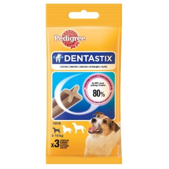 Pedigee dentastix mali 3/1 45g