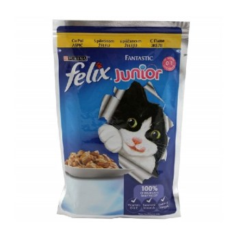 Felix fantastic junior piletina 100g