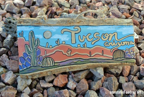 TUCSON SCENE BY ANNOTATED AUDREY AKA AUDREY DLC