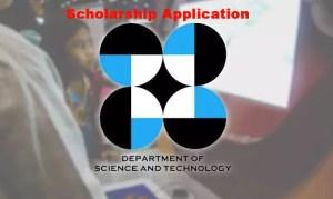 DOST Scholarship Application