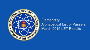 March-201-LET-Results-Elementary