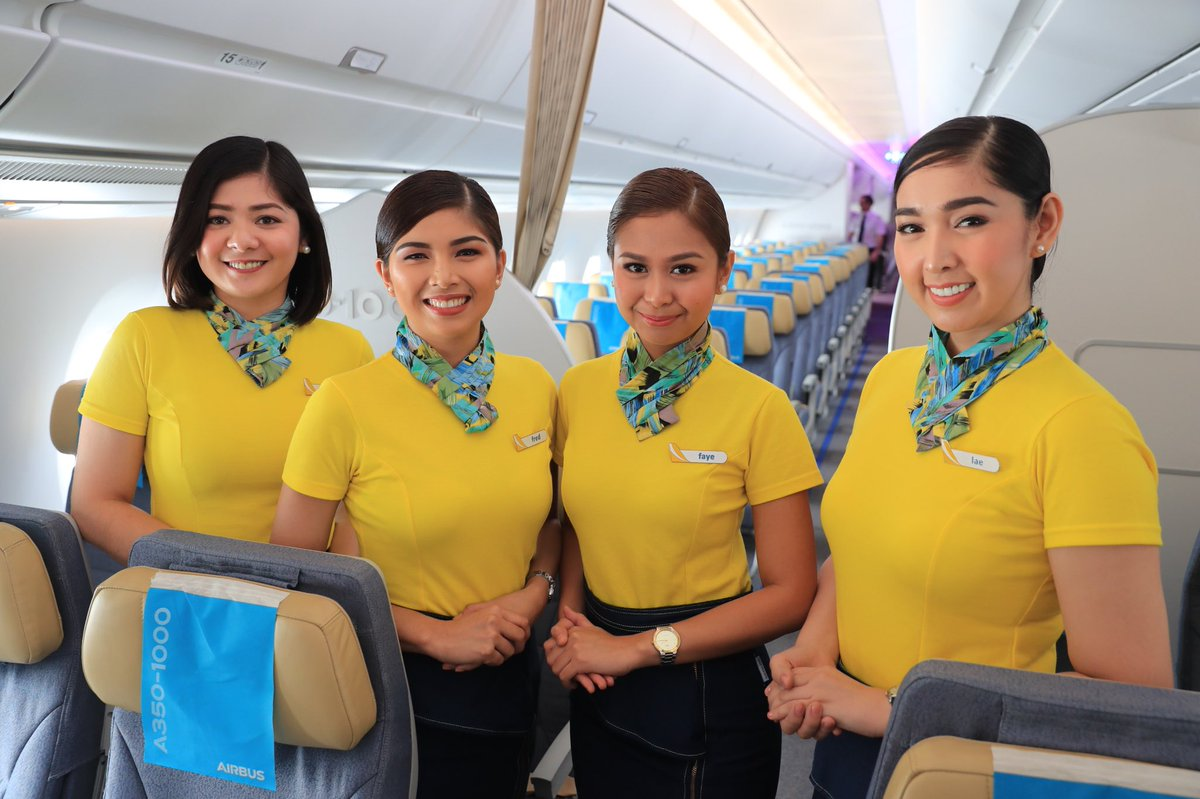 K12 Pinoy Graduates Are Qualified To Apply As Cabin Crew Or A Flight