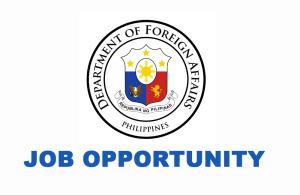 DFA Job Vacancies
