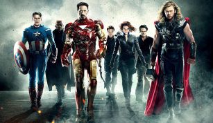 The Avengers movie avengers team