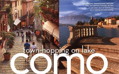 Town-hopping on Lake Como