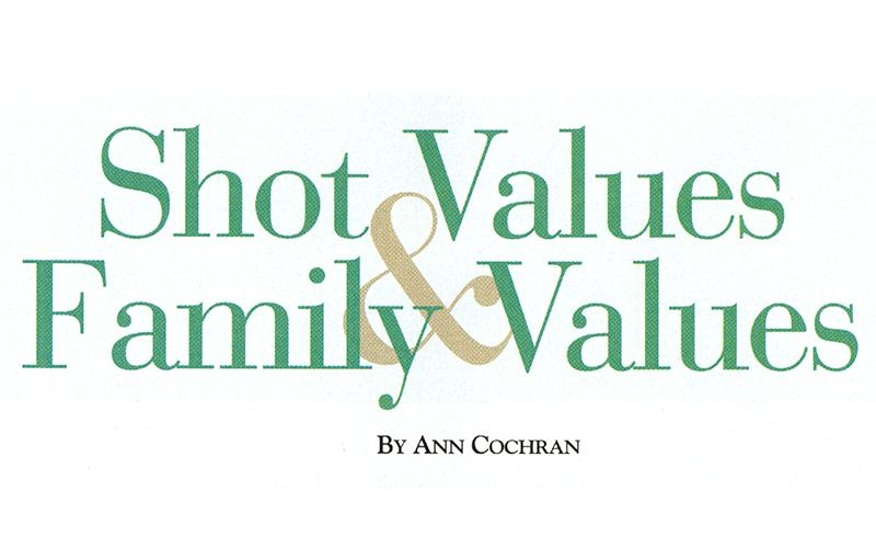 Shot Values & Family Values