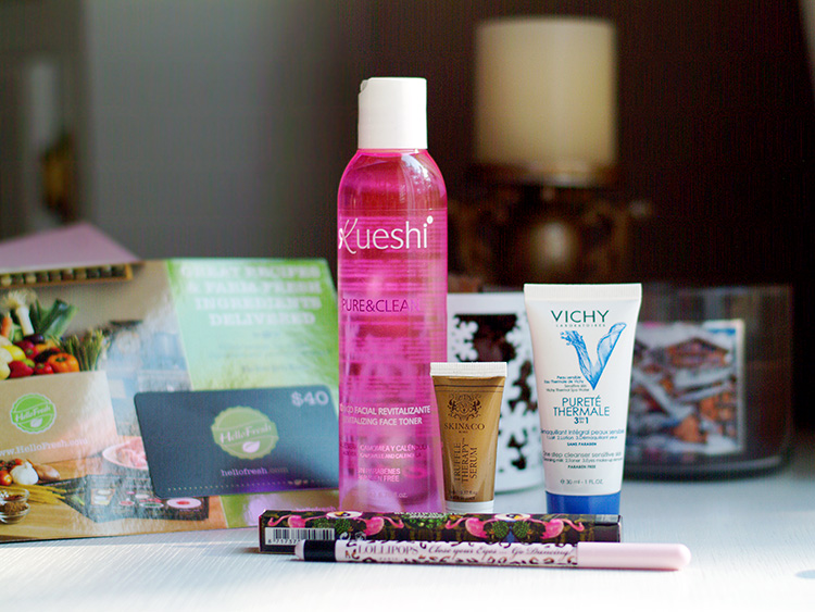 Glossybox January 2015 review by Ann Robie from AnnRobieFashion.com