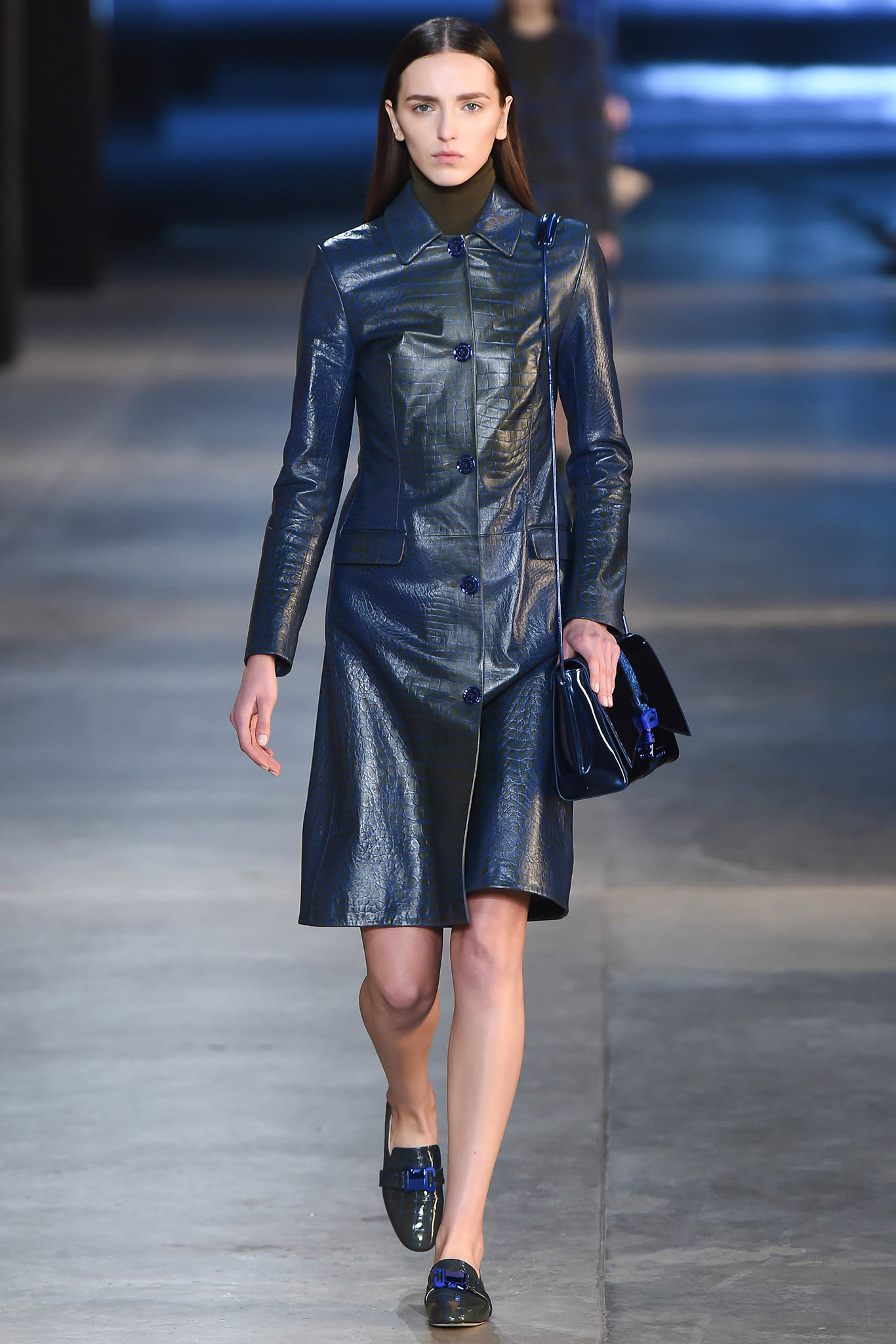 Christopher Kane RTW Fall 2015 Trends: Leather