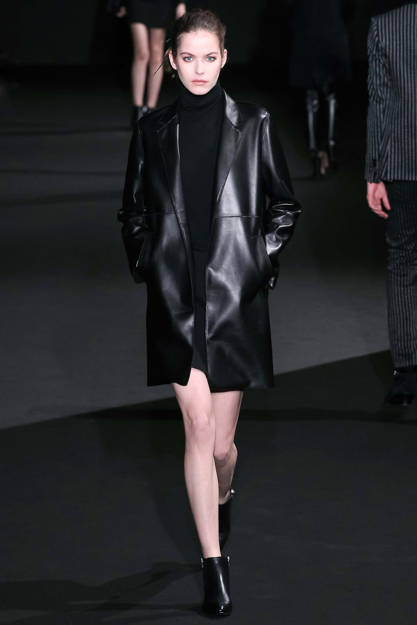 Costume National RTW Fall 2015 Trends: Leather