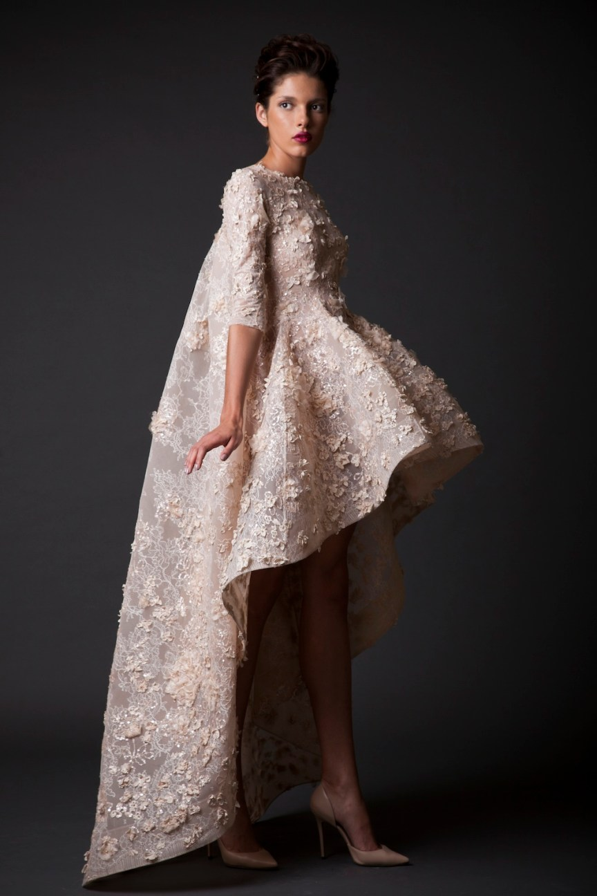 krikor Jabotian short dress, collection fw 14/15