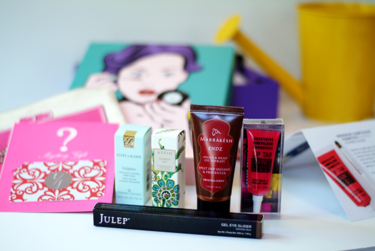 Glossybox April 2015 review by AnnRobieFashion