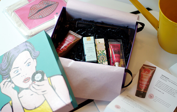 Glossybox April 2015 review by style blogger Ann Robie from AnnRobieFashion