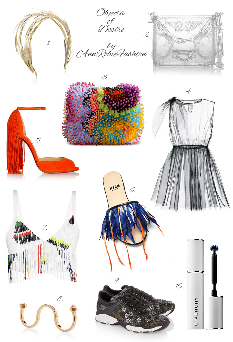 Objects of Desire by style blogger AnnRobieFashion: Exotic creatures