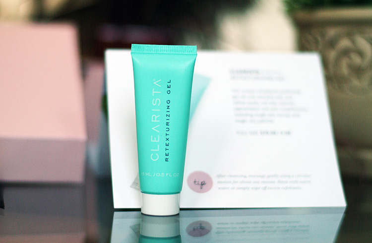 Glossybox, May 2015 review by style blogger AnnRobieFashion: Retexturizing Gel, Clearista