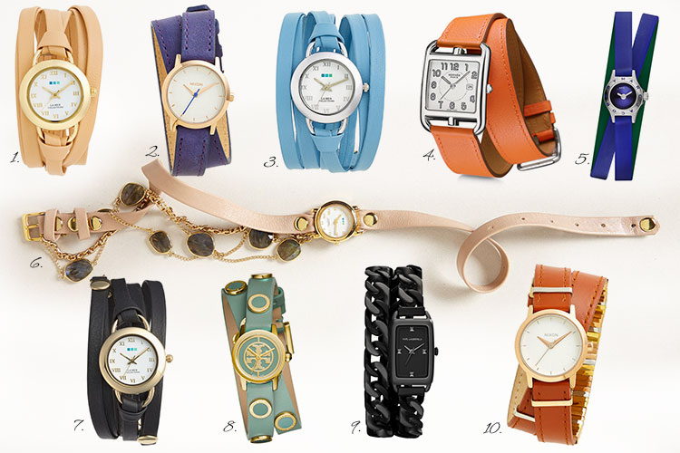 The Best Wrap Watch For Summer 2015 by Style Blogger AnnRobieFashion