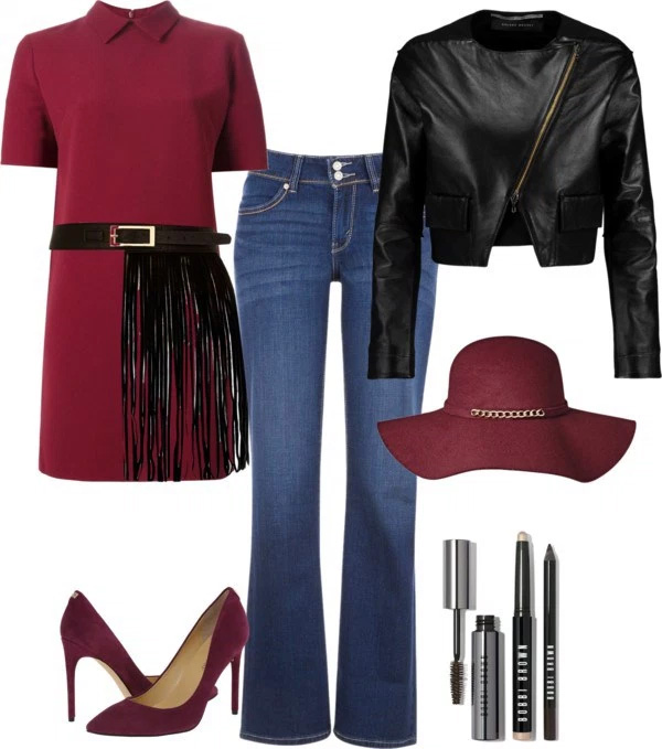 How to wear marsala heels: Outfit ideas by style blogger AnnRobieFashion