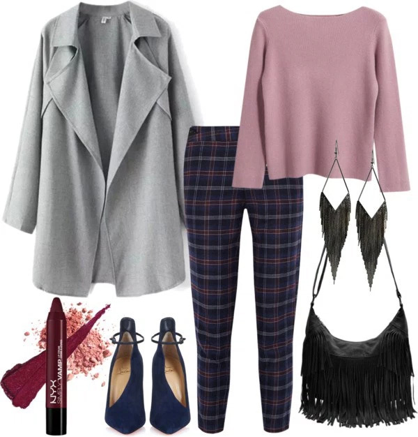 How to wear marsala pants: Outfit ideas by style blogger AnnRobieFashion
