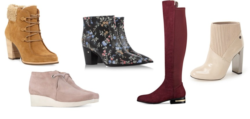 Colored boots and booties for winter by style blogger AnnRobieFashion