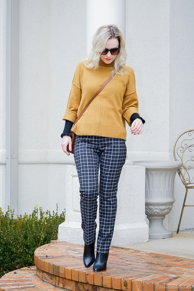How to wear mustard yellow & black