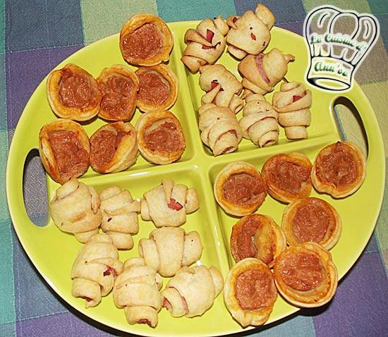 toast tartelette mini quiches