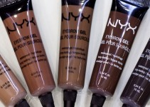 NYX Eyebrow Gel swatches