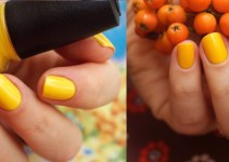 yellow nail polishes