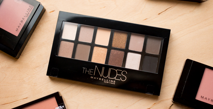 Maybelline The Nudes new cosmetics