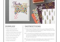 Ann's PaperWorks #wildflowerfields