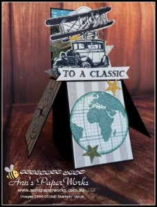Fancy fold card class Card in a Box|May card making class|Stampin' Up! Ann's PaperWorks Ann Lewis Stampin' Up! (Aus)