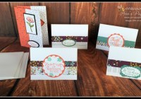 Stampin' Up! Ann's PaperWorks Ann Lewis #stampinup (Aus) March card making class