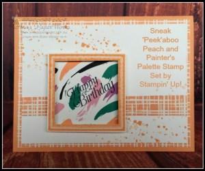 Sneak Peek Painter's Palette | Ann's PaperWorks| Ann Lewis| Stampin' Up! (Aus) online store 24/7