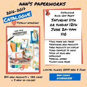 Stampin' Up! 2016-17 Catalogue |Ann's PaperWorks| Ann Lewis| Stampin' Up! (Aus) online store 24/7