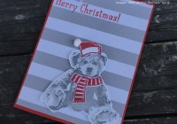 Baby Bear Stamp Set, Christmas in July, Stampin' Up! Ann's PaperWorks Ann Lewis Stampin' Up! (Aus)
