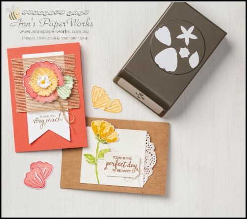 Bunch of Blossoms, Ann's PaperWorks| Ann Lewis| Stampin' Up! (Aus) online store 24/7