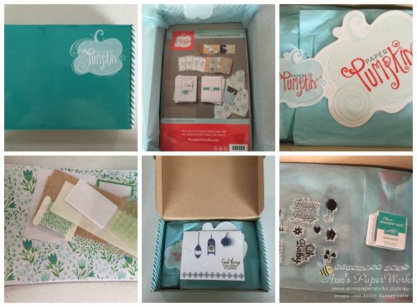Paper Pumpkin kit, Stampin' Up! Ann's PaperWorks Ann Lewis Stampin' Up! (Aus)|Stampin' Up!
