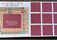 June kit 'From Picture to Page' Creative Class, Stampin' Up! Ann's PaperWorks Ann Lewis Stampin' Up! (Aus)|Scrapbooking/Project Life class