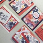 Calypso Coral , Night of Navy, Crushed Curry , Wisteria Wonder and Mint Macaron One Sheet Wonder, Ann's PaperWorks| Ann Lewis| Stampin' Up! (Aus) available from my online store 24/7