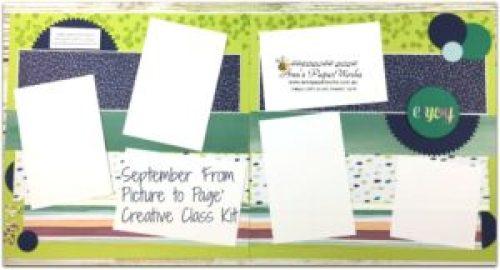 Stampin' Up! classes, September Scrapbooking Kit, Naturally Eclectic Designer Series Paper, Stampin' Up! Ann's PaperWorks Ann Lewis Stampin' Up! (Aus)|Scrapbooking/Project Life class, Stampin' Up! 2017-18 Annual Catalogue