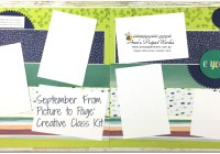 September Scrapbooking Kit, Naturally Eclectic Designer Series Paper, Stampin' Up! Ann's PaperWorks Ann Lewis Stampin' Up! (Aus) Scrapbooking/Project Life class, Stampin' Up! 2017-18 Annual Catalogue