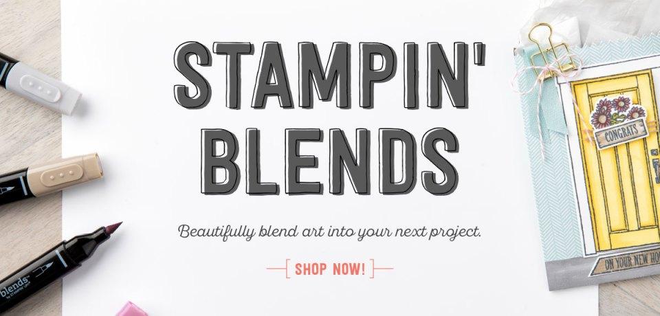Stampin' Blends Stampin' Up!