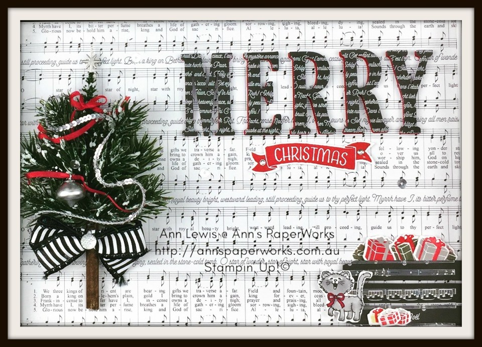 Stampin' Up! 2017 Christmas Holiday Catalogue Ann's PaperWorks| Ann Lewis| Stampin' Up! (Aus) online store 24/7