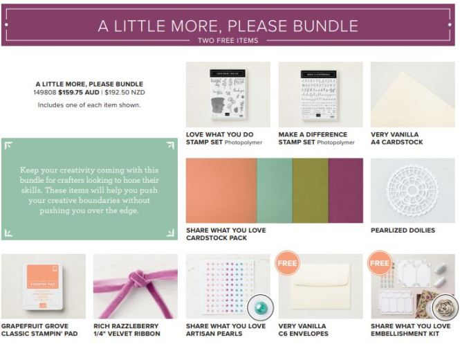 Share What You Love Suite bundles, 201-18 In Color Ink Pad collection, store 24/7 Stampin' Up! 2018-19 Catalogue Ann's PaperWorks| Ann Lewis| Stampin' Up! (Aus) online store 24/7