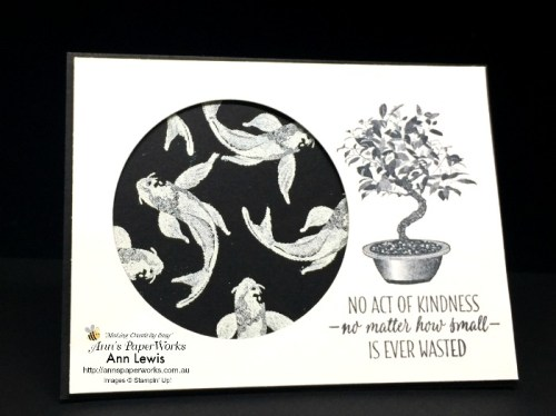 All the Good Things Stamp Set, heat embossing, black and white card, Stampin' Up! 2018-19 Catalogue Ann's PaperWorks| Ann Lewis| Stampin' Up! (Aus) online store 24/7