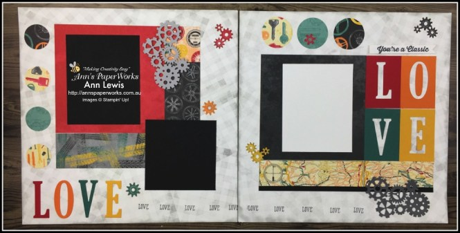 Classic Garage Designer Series paper, Geared Up Garage Bundle, Stampin' Up!  Ann's PaperWorks Ann Lewis Stampin' Up! (Aus)|Scrapbooking/Project Life class,  available from my online store 24/7, scrapbooking class, memory keeping