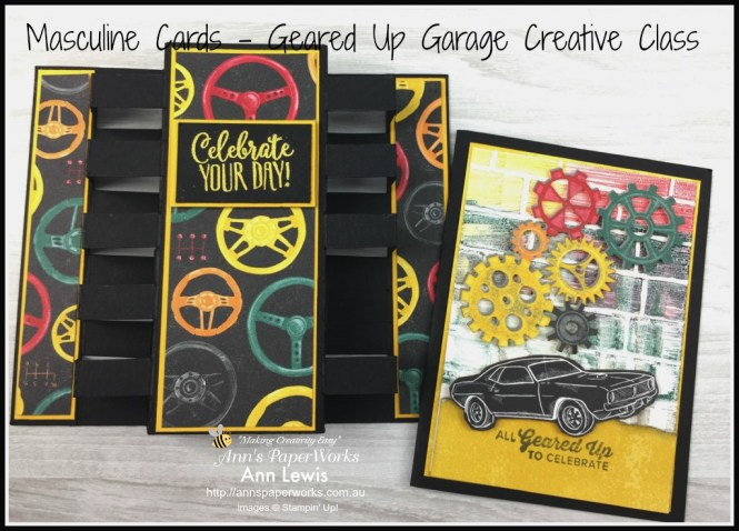 Geared up Garage Stamp Set, Classic Garage DSP, Tower Card, Stampin' Up!  Ann's PaperWorks, Ann Lewis, Stampin' Up! (Aus)|Stampin' Up! 2019 Occasions Catalogue| online store 24/7 http://bit.ly/2A2JVDr