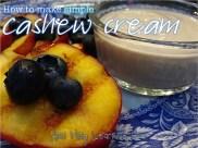 192. How to make Simple Cashew Cream