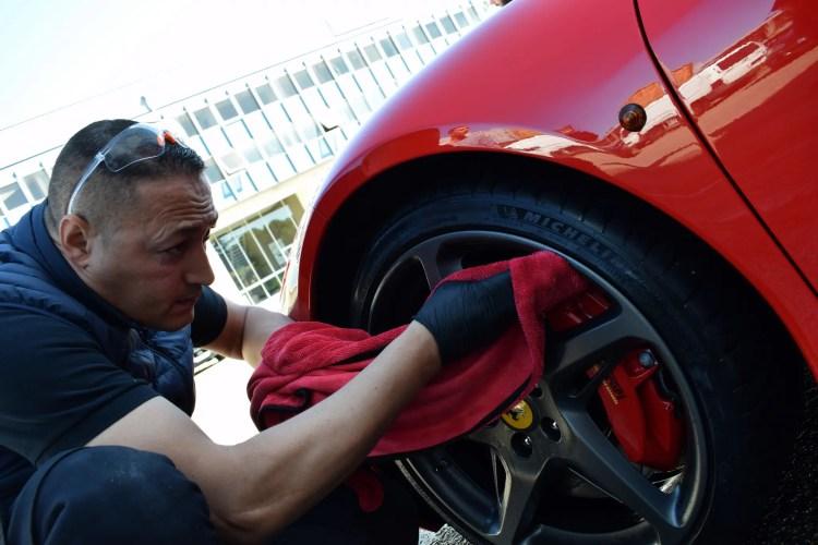 préparation f458 par sb auto cleaner