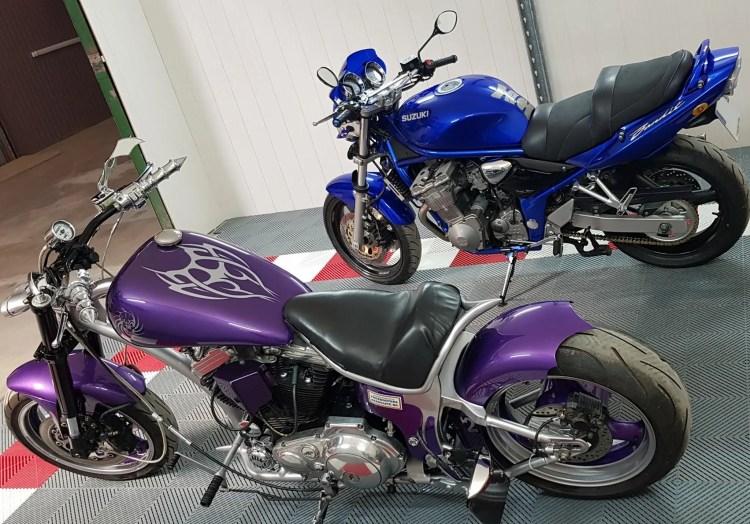 detailing sur moto pres d'orléans
