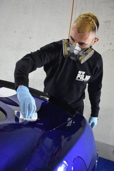 Julien detailer certified uv film design auto a ivry sur seine céramique 94