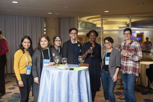 A photo from taken at the 2019 AAA/CASCA Annual Meeting in Vancouver.